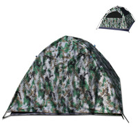 Digital camouflage tent 3 4 people outdoor double layer 420D oxford thick cloth tent automatic quick open camping tent