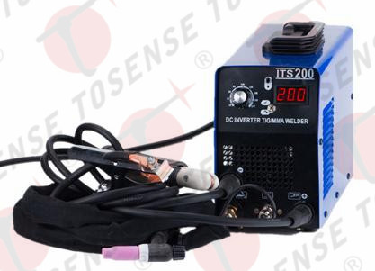 Free shipping 2016 200A 110V/220V WELDING ROD IGBT TIG/MMA WELDING MACHINE free welding accessories