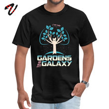 Jazz er Men Tees Gardens Of The Galaxy Family Tshirt Pure Tacos Short Sleeve Printed On Tshirts Crew Neck Wholesale