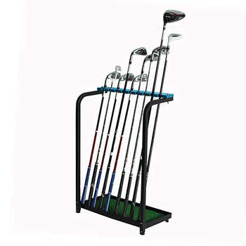 CRESTGOLF Golf Club Display Stand Rack Shelf Golf Club Organizers Training Aids - DISCOUNT ITEM  9% OFF Sports & Entertainment