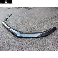 Full carbon fiber Golf 6 MK6 R20 front bumper lip spoiler for Volkswagen Golf6 MK6 R20 bumper 2010 2013