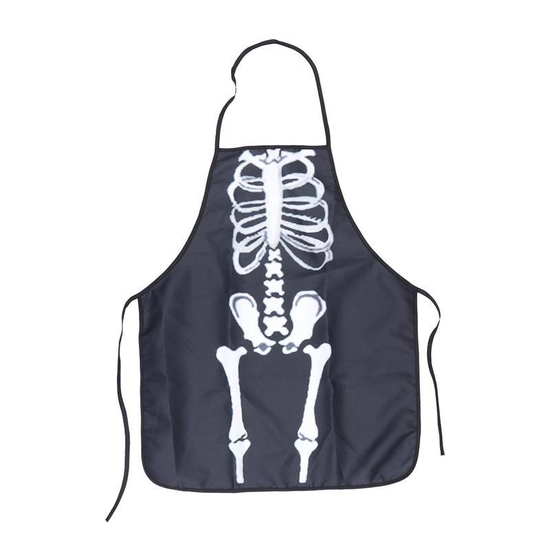 Halloween Schort.1 Pc Decoratieve Enge Skelet Halloween Schort Kleding Accessoire Keuken Cook Chef Schort Voor Kostuum Party Carnaval Cosplay Schorten Aliexpress
