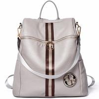 BOSTANTEN Female Backpack Genuine Leather Women's Backpacks School Bag Leather Back pack on Shoulder
