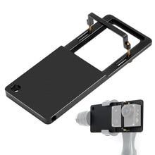 Aluminum Alloy Quick Release Plate for ZHIYUN DJ Handheld Stabilizer Mounts Clip Gopro Hero SJcam Xiaoyi Action Cameras