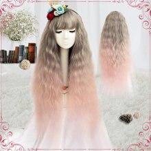 (alice wig 043) Термостойкий волосяной парик из синтетического