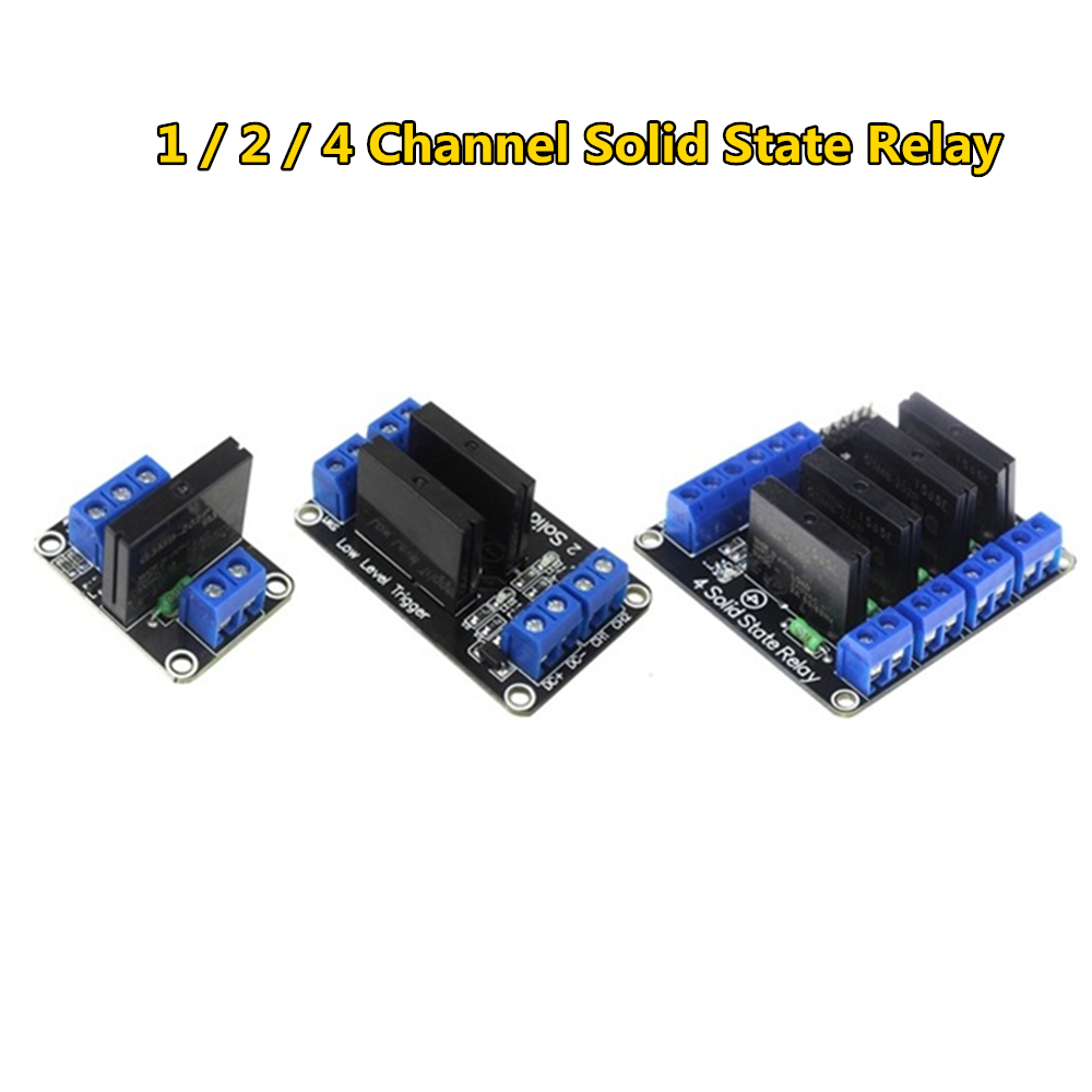 Dropwow Solid State Relay Module Channel 5v Dc Low Level G3mb 202p Ssr Avr Dsp For Arduino Diy Kit