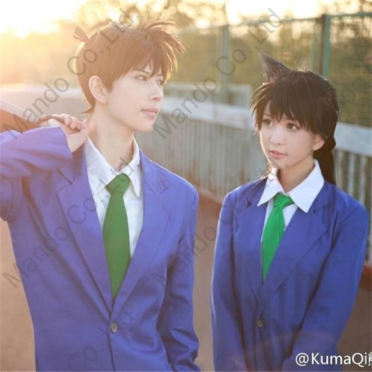 Anime Detective Conan Case cerrado Kudou Shinichi Cosplay disfraces - Disfraces - foto 6