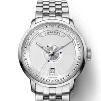 Schweiz LOBINNI Männer Uhr Luxus Marke Japan MIYOTA Auto Mechanische MOVT herren Uhren Sapphire Voller Stahl Relogio L16050-5