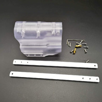 Modified Pull Down Block For Nerf Retaliator Toy Gun Exterior Modified Accessories Kit Transparent