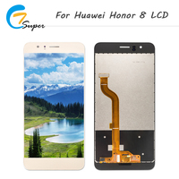 Hot Truth 1PCS High Quality No Dead Pixel For Huawei Honor 8 LCD Display Touch Screen