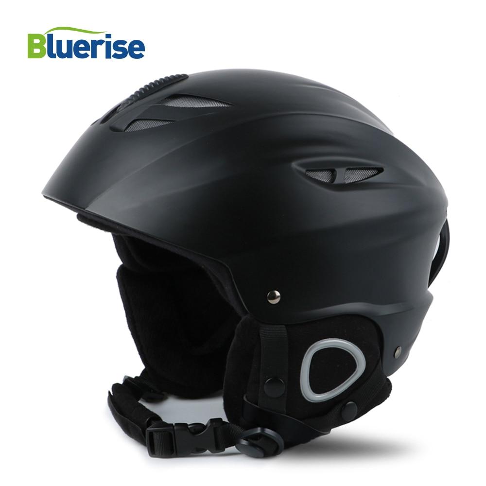 Windproof Heated Ski Helmet Breathable Ventilation Motocycle Helmet Adjustable Size Upset Keep Warm Men's Winter Hat
