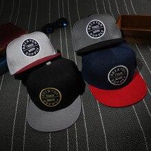 Мужская Мода для мальчиков, в стиле «хип-хоп» Регулируемый Бейсбол бейсболка кепка
