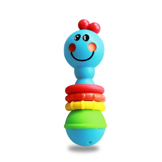Us 5 99 0 6 Months Baby Smile Rattle Toy Toddler Boy Girl Mobile Musical Teether Newborn Crib Stroller Toys Jouet Juguete Brinquedos In Baby Rattles