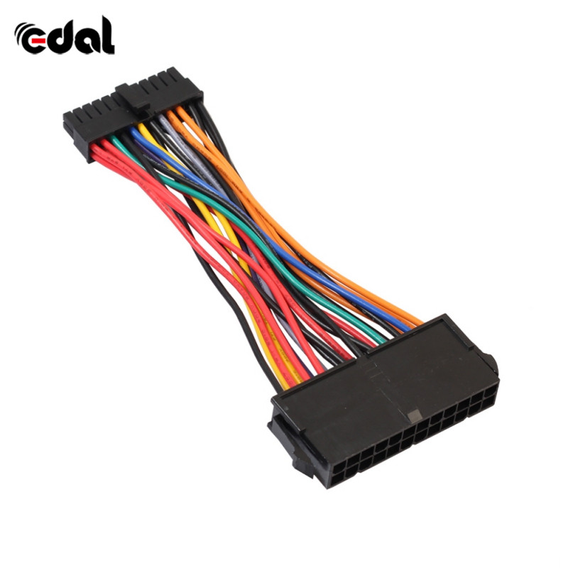ATX PSU Standard 24Pin Female to Mini 24P Male Internal Power Adapter Converter Cable For DELL 780 980 760 960 PC