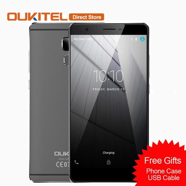 Oukitel U13 4 г мобильного телефона Android 6.0 MTK6753 Восьмиядерный сотовый телефон 3 ГБ ОЗУ 64 ГБ ROM 13MP + 8MP 5.5 дюймовый отпечатков пальцев Смартфон