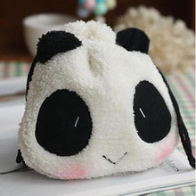 Cute Panda Shape Pouch Wallet Women Carteira Feminina Bag For Camera Fujifilm Polaroid Instax Mini8 90 50 7S 25s Cartoon