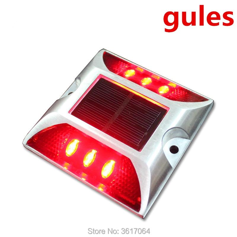 Solar protuberance road sign LED for transportation facilities