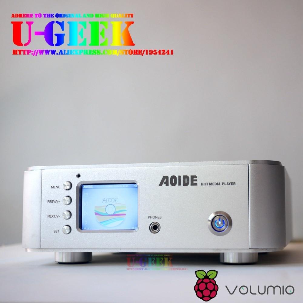 AOIDE 24BIT/192K HiFi Media Player | Table | Lossless | Geekroo | by UGEEK