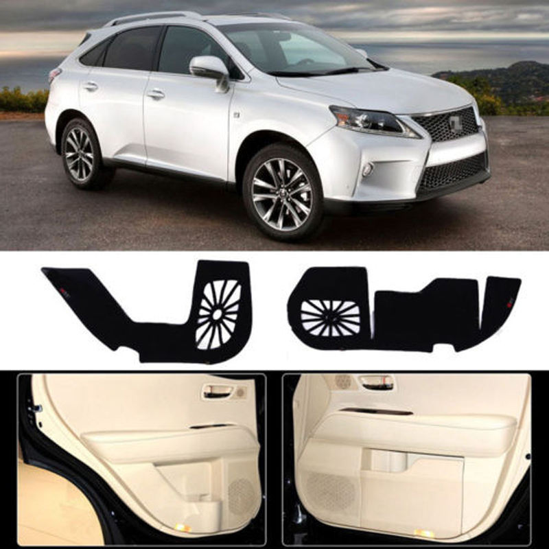 Brand New 1 Set Inside Door Anti Scratch Protection Cover Protective Pad For Lexus RX 2004-2014