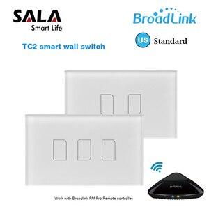 Image 1 - Original Broadlink TC2 US Standard RF Touch Panel Switch 123 Gang RM PRO Smart Home Universal Wireless WiFi RF Remote Control