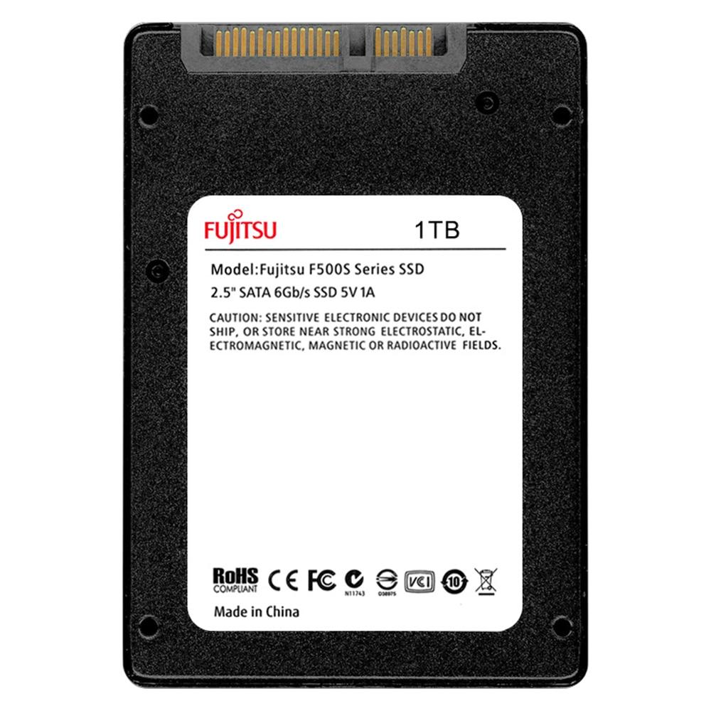 "FUJITSU 2.5"" ssd 1tb sata3 ssd 1024G 3D NAND Flash SMI/Phison/Realtek TLC ssd hard drive Solid State Drives for desktop laptop 24"