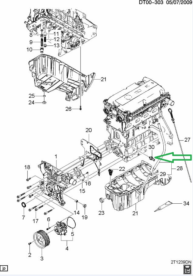2011 chevy cruze ecotec engine diagram