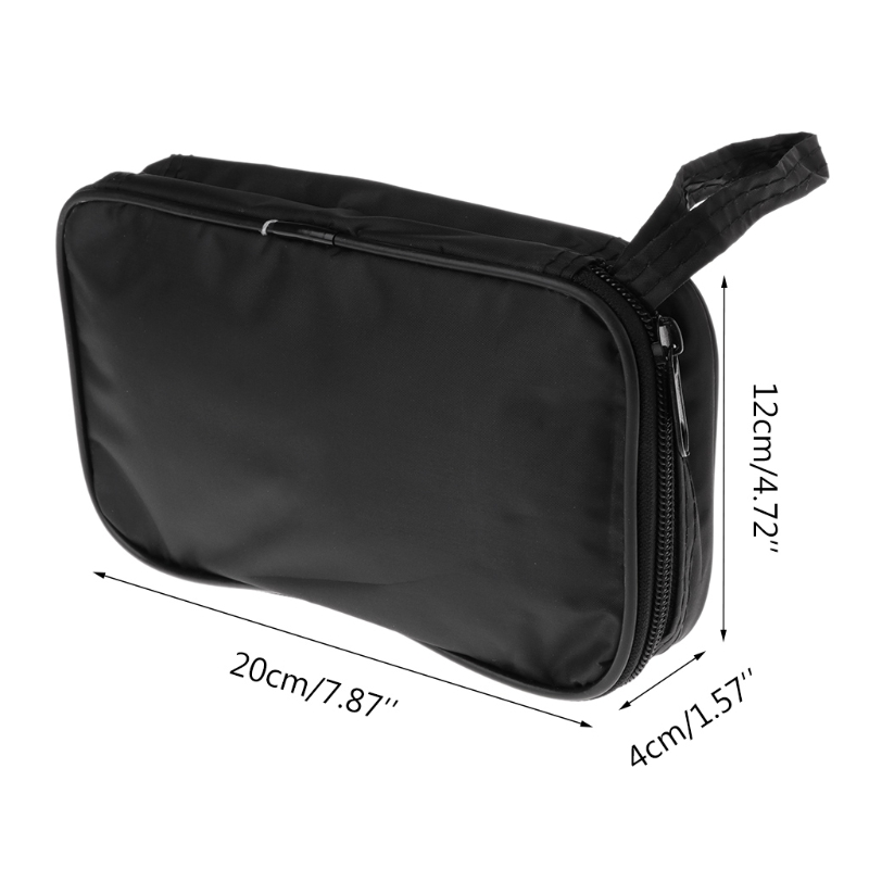 Multimeter Storage Bag Black Cloth Toolkit Pouch Tool Bag 20*12*4cm UT Durable Waterproof Shockproof Soft Case