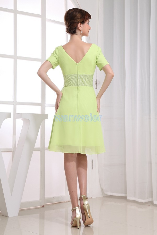 free shipping formal gown 2016 green short evening sexy brides maid short dresses evening plus size Mother of the Bride Dresses