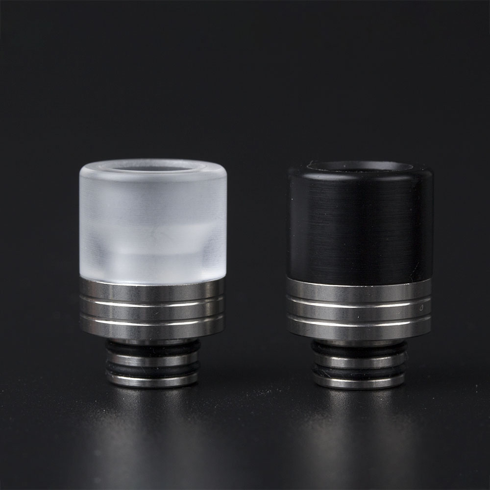 Coil Father 510 Drip Tip Stainless Steel For 510 Electronic Cigarette RDA RTA RBA RDTA Atomizer Vape Mouthpiece