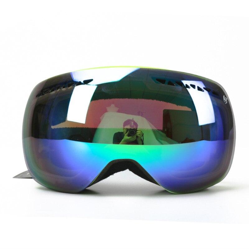 Saenshing Для мужчин Для женщин лыжные очки зимой HD анти-туман снег сноуборд очки ветрозащитный глаз-защитные горнолыжные Лыжный Спорт Очки отк...