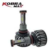 KOBRAMAX LED car lights V18 Model H7/H1/H4/H11/9005/9006 autoparts 6500k 30w 20w