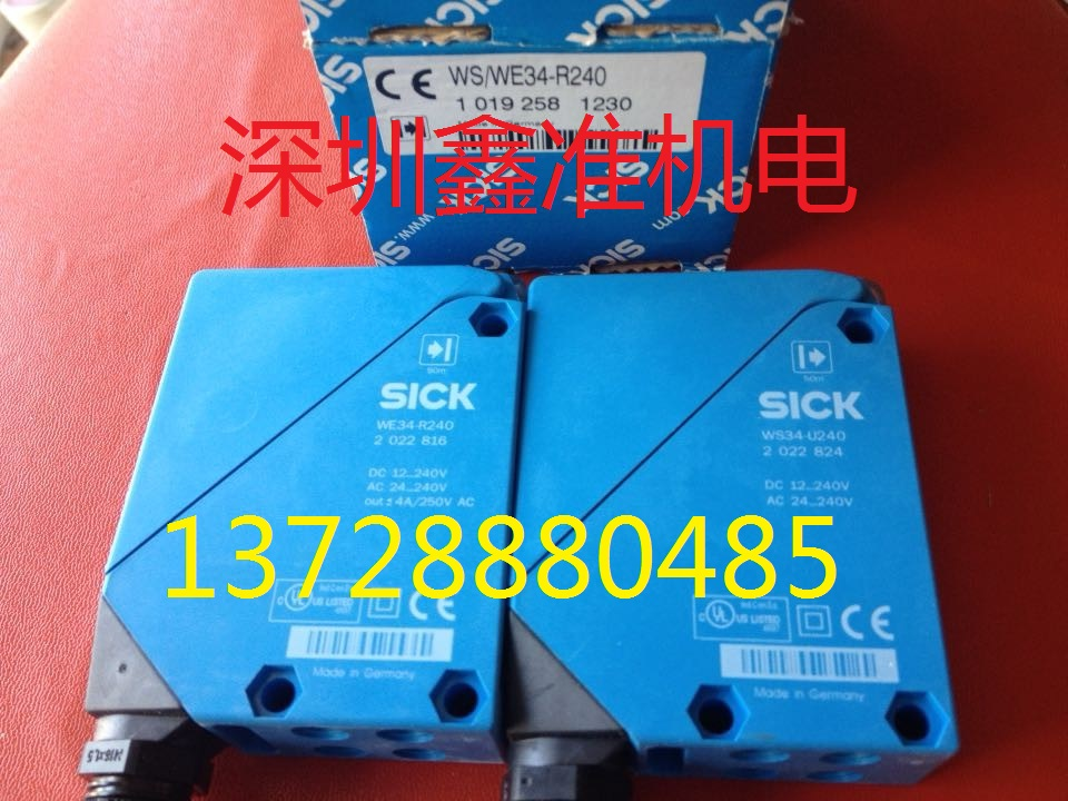 WS/WE34-R240  Photoelectric Switch e3x da21 s photoelectric switch