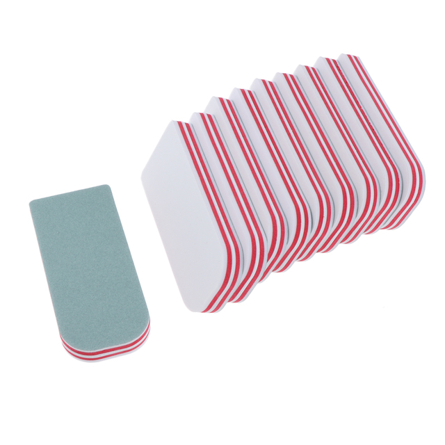 10Pcs Professional Nail Art Buffing Sanding Buffer Block, Dress Your Nails Quickly, Keep the Nails in a Good Shape 1