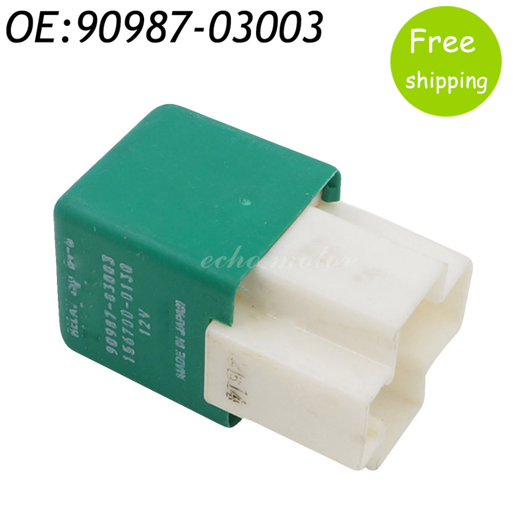 90987 03003 Coolant Fan Relay Fits For Toyota Corolla Tercel Camry ...