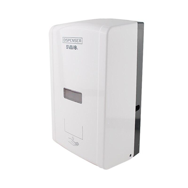 1300 мл настенный Сенсор бесконтактная Автоматическая мыла Кухня Инфракрасный Индукционная Smart жидкого мыла