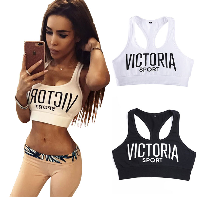2018 Sexy Letter printed Short   Tank     tops   Women crop   top   Black White Bandage Cotton Fitness Summer Backless Female Camis Croptop