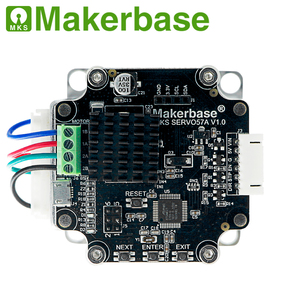 Image 2 - 3D מדפסת סגור לולאה סרוו מנוע NEMA23 MKS SERVO57A שפותח על ידי Makerbase כי מונע לאבד צעדים