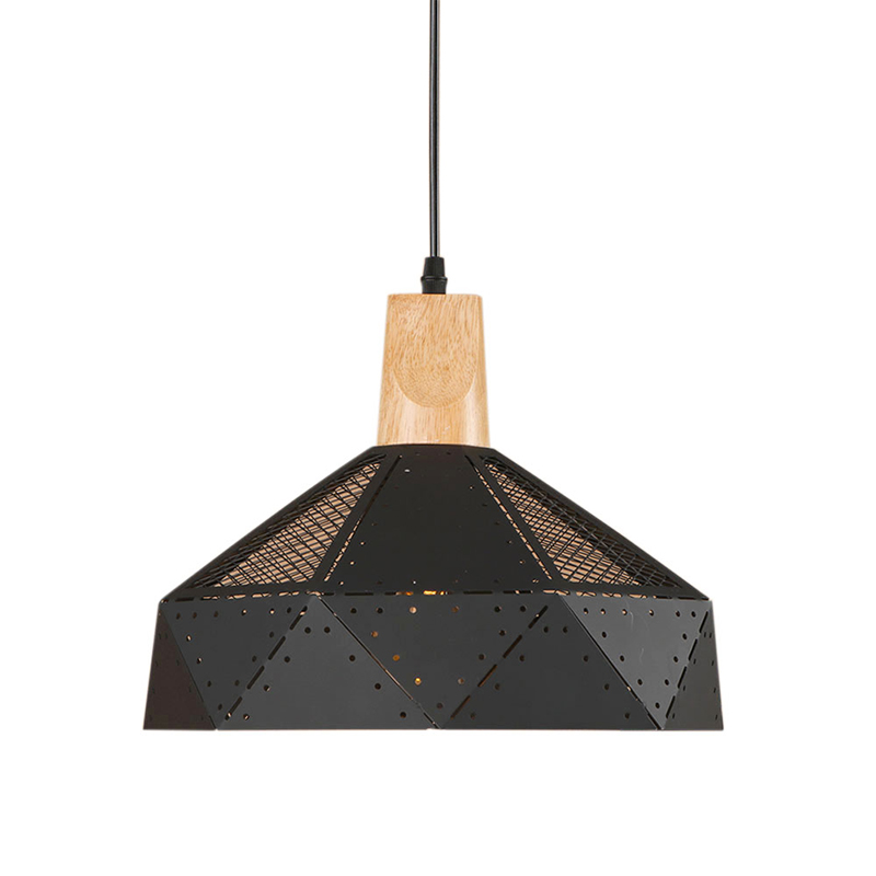 Northern Europe LED iron pendant lamp Wood socket e27 living room Light Cabinet dining room/bar lamp Pendant Light Fixture 220V caravaggio lamp northern europe modern simple aluminum pendant light dining room bar hotel market pendant light decoration lamp