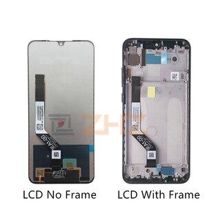 Image 2 - Per xiaomi Redmi Nota 7 display LCD touch screen digitizer Assembly con telaio per redmi note7 pro lcd parti di riparazione