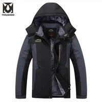 7XL 8XL 9XL Winter Jacket Men Waterproof Thick Brand Warm Parka Windproof Jacket Men Snow Velvet