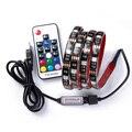 DC 5V USB RGB LED strip SMD 5050 Flexible Light Lamps LED Light TV Background Lighting Adhesive Tape 50CM 1M 2M 3M 4M 5M