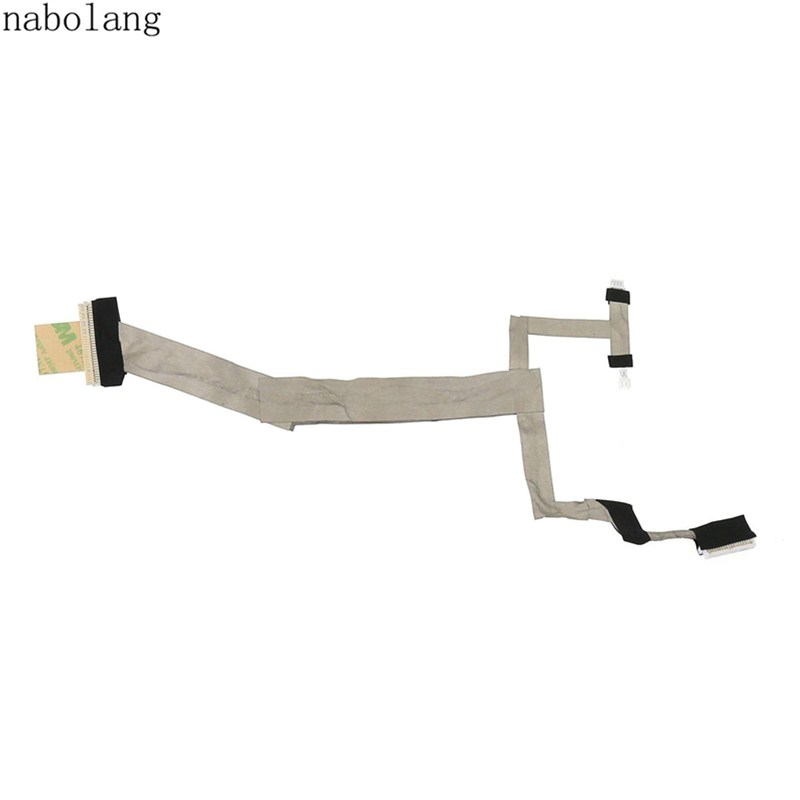 LCD display Video flex cable For HP Pavilion DV5 DV5-1000 DV5-1100 LCD video cable For Hp DV5 DV5-1000 Series new original lcd led video flex cable for hp pavilion g6 g6 1000 laptop cable pn dd0r15lc040 dd0r15lc050 dd0r15lc000