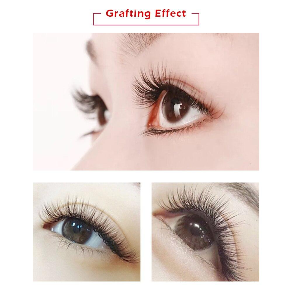 Professional Eyelash Extension Kit Individual Mink Eyelashes Set with Case No Stimulating Glue Easy Grafting Eyelash Tool Salon