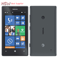 """Оригинальный телефон 520 Nokia Lumia 520 сотовый телефон Dual core 8 ГБ ROM 5MP GPS Wi-Fi 4.0 """"IPS разблокирована windows phone Восстановленное"""