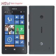 "Original 520 phone Nokia Lumia 520 cell phone Dual core 8GB ROM 5MP GPS Wifi 4.0"" IPS unlocked windows phone Refurbished"