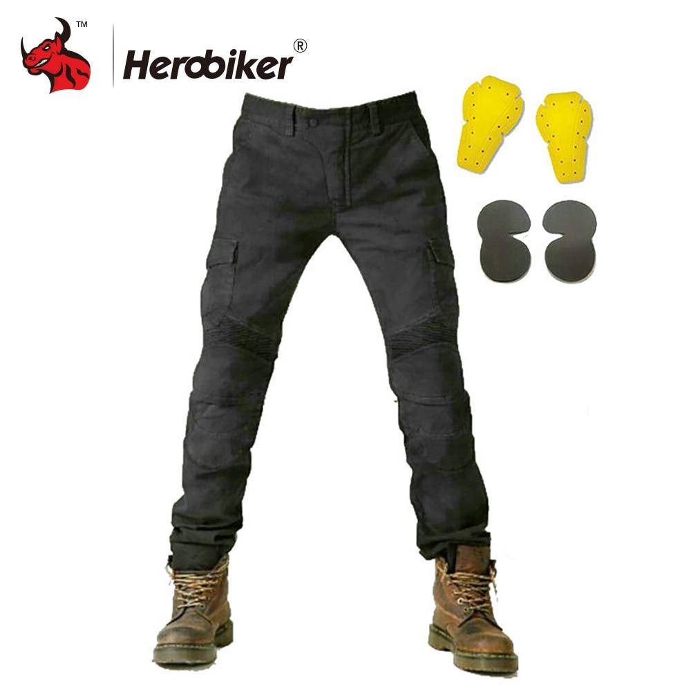 New Motorcycle Pants Men Moto Jeans Motorcycle Trousers Riding Motorbike Motocross Pants Pantalon Protective Gear Moto Pants