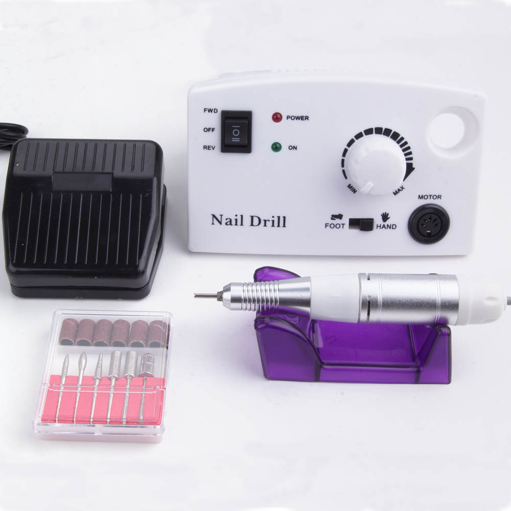 35000RPM Milling Manicure Electric Nail Drill Ceramic Cutter Pedicure Machine Set Professional For Sterilizer Nail File Tools
