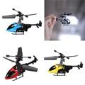 Mini Portátil QS QS5013 2.5CH Helicóptero de Controle Remoto Transmissor voando UFO Gyro Kid Crianças Enigma Educacional