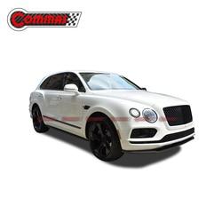 Komma Voor Bentayga Carbon Fiber Body Kit Voor Bentley Voorbumper Lip Diffuser Spoiler W 12 Kits Auto Accessoires