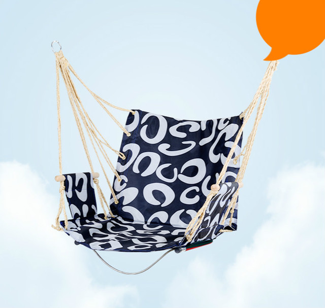 High quality student dormitory bedroom hammock living room swing chair basket balcony outdoor adult indoor hammock